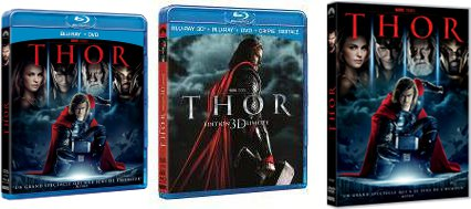 Thor en DVD et Blu-Ray