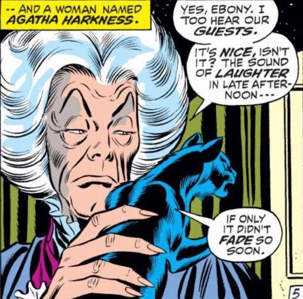 Un jour un quiz ! Agatha Harkness