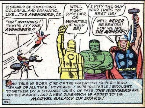 Un jour un quiz ! Les origines des Avengers