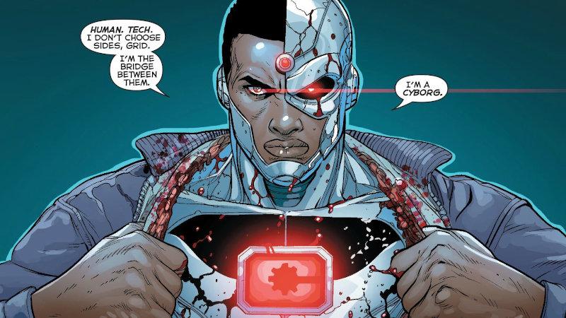 Un jour un quiz ! Les cyborgs de DC
