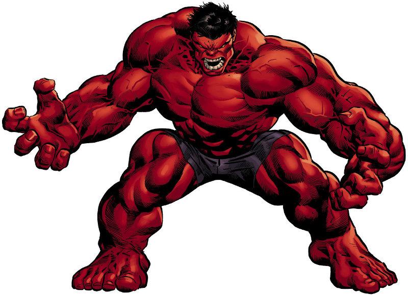 Un jour un quiz ! Hulk rouge