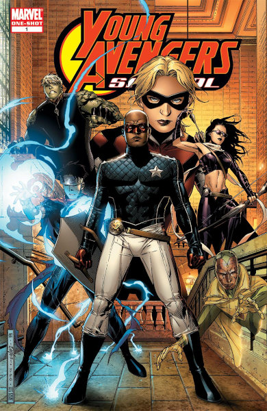 Un jour un quiz ! Young Avengers