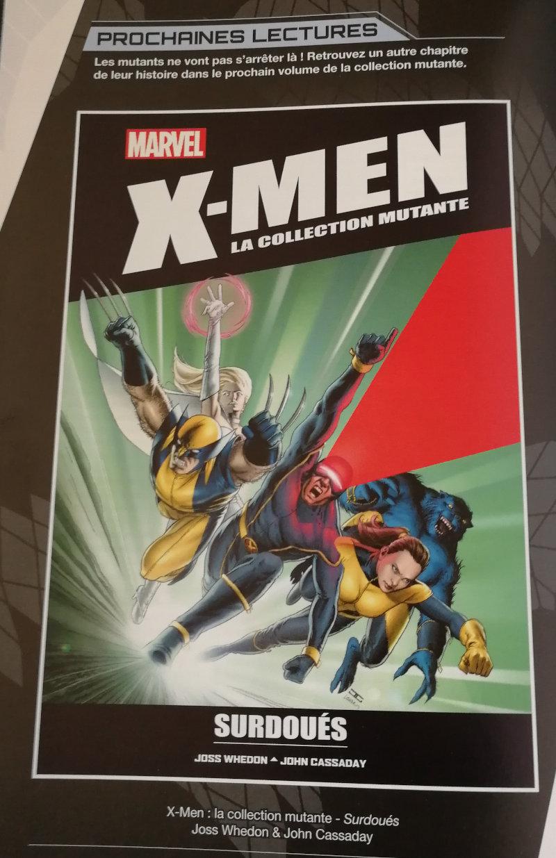 X-Men la collection mutante #15 Surdoués
