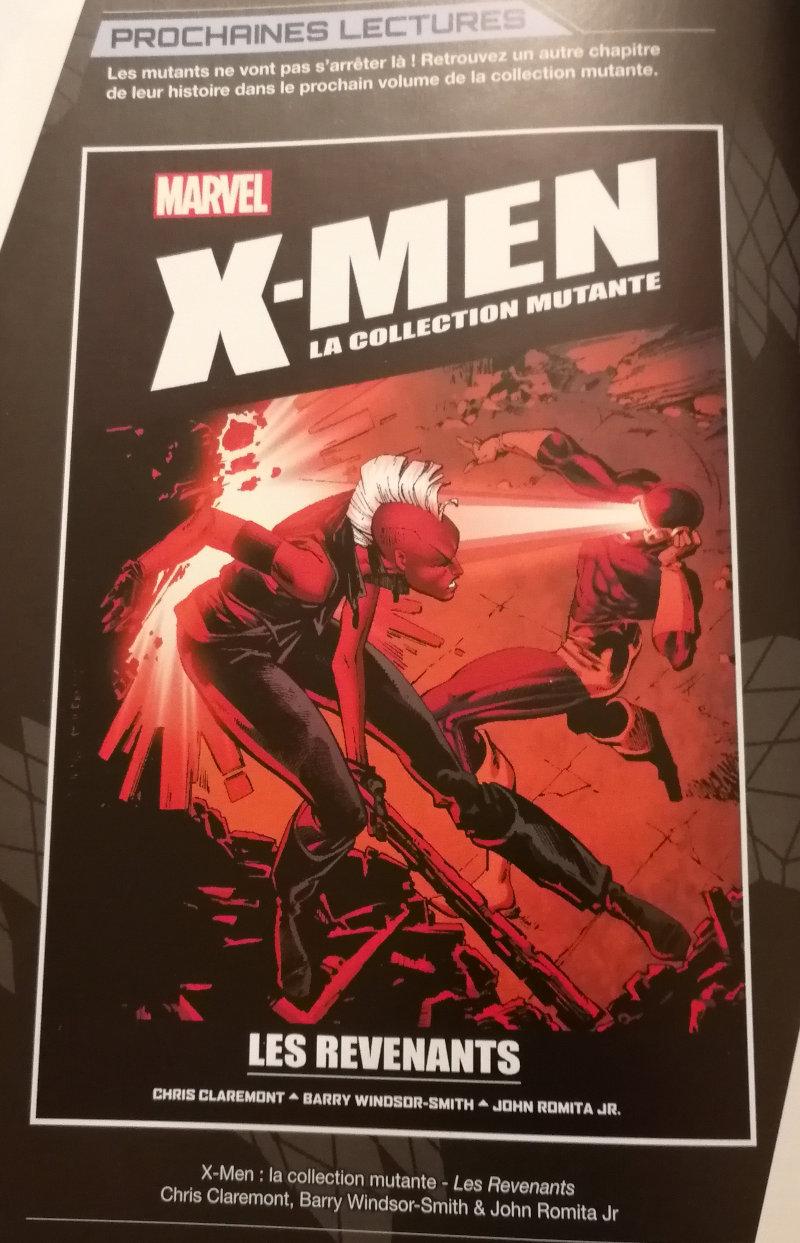 X-Men la collection mutante Hachette 17 Les revenants