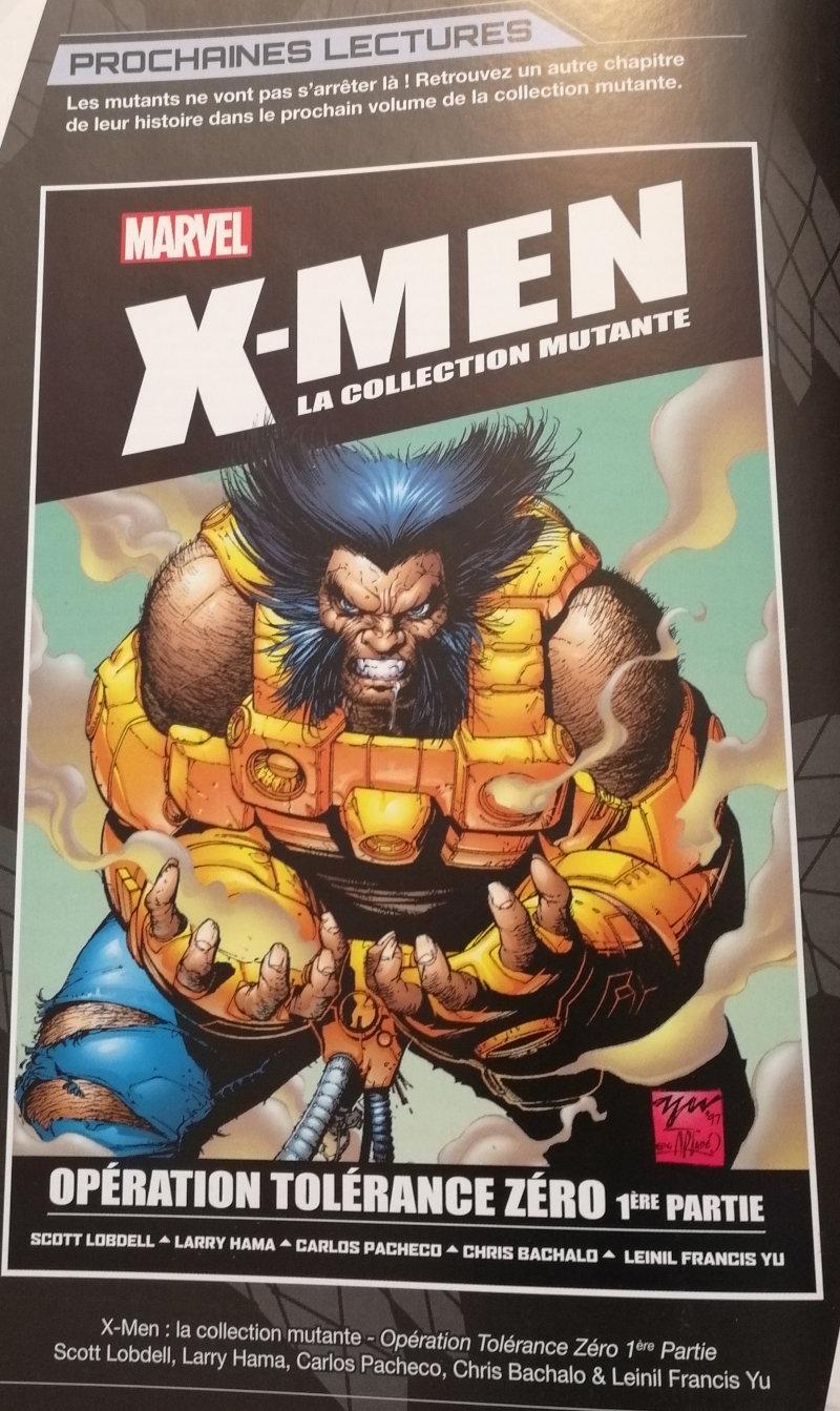 X-Men : La collection mutante 18 : Opération Tolérance zéro 1ère partie