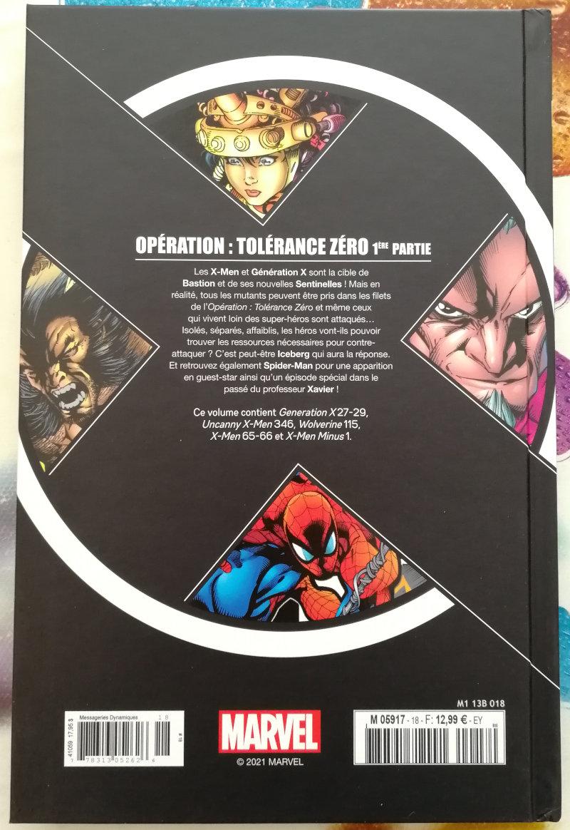 Hachette X-Men La collection mutante : Opération Tolérance Zéro 1ère partie