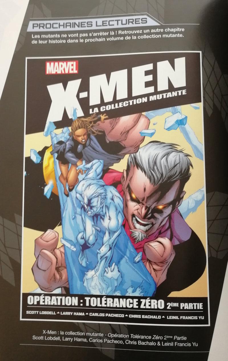 Hachette X-Men La collection mutante : Opération Tolérance Zéro 2ème partie