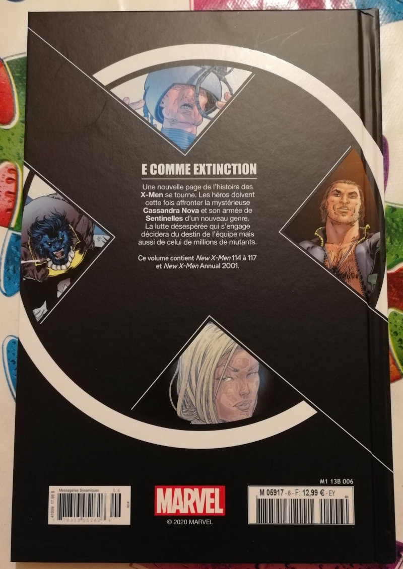 X-Men : E pour Exctinction (Hachette)