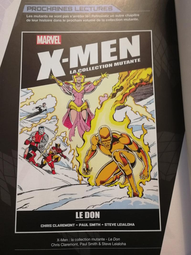 X-Men Collection Hachette : aperçu du numéro 8
